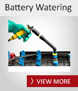 Forklift Battery Watering Equipment, Water Injectors