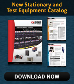 New SBS Stationary and Test Equipment Catalog