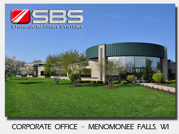 Storage Battery Systems - Menomonee Falls Corporate Office