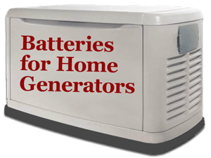 generator with batteries for home generators