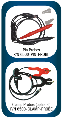 Probes for SBS-6500 battery analyzer