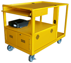 SBS Battery yellow mobile cart l1
