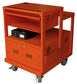 Battery mobile cart by SBS