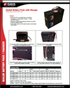 data sheet for sealed battery packs with charger