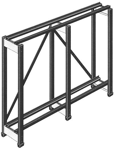 two-tier rack
