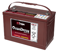 Trojan OverDrive AGM 31 Battery