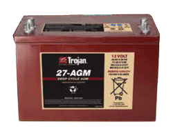 Trojan 27-AGM deep-cycle AGM battery