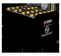 DIN Cell Tubular Forklift Battery / EURO Bolt-on