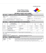 SDS & MSDS Safety Data Sheets
