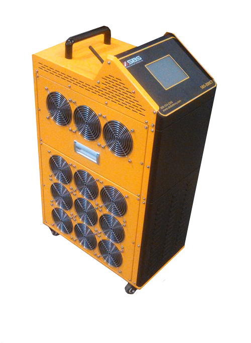 SBS-200CT: Battery Capacity Tester for Forklift Batteries