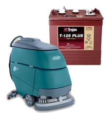Trojan Floor Machine Batteries