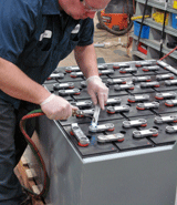 Forklift Battery Service