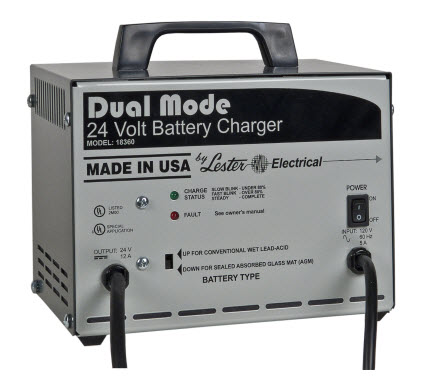 Lester - Dual Mode Battery Chargers