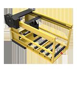 Non-Powered Forklift Battery Puller