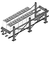 Seismic Battery Racks