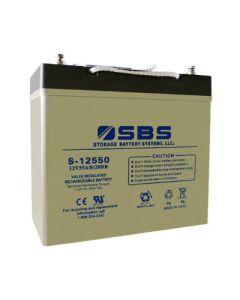 S-12550 12V Battery