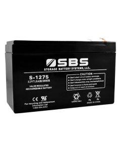 S-1275 12V Battery