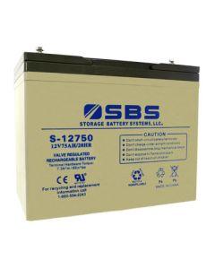 S-12750 12V Battery