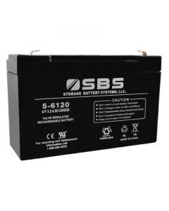 S-6120 6V Battery