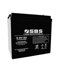 S-6V150 6V Battery
