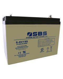 S-6V195 6V Battery