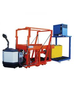 HPT-PL Powered Lift Battery Transfer Cart