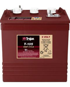 Trojan Battery T-105 Deep-Cycle Flooded