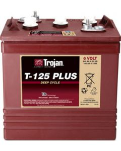 Trojan Battery T-125 Plus Deep-Cycle Flooded