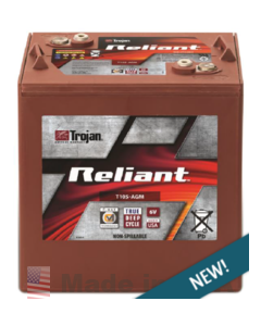 Trojan Battery T105-AGM Reliant Deep-Cycle