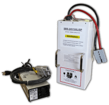 Lithium Battery Charger Pack for Automated Guided Vehicles