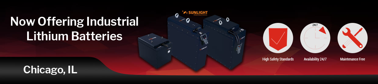 Now Offering Industrial Lithium Batteries