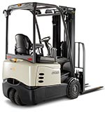 battery specified for Crown 3-wheel forklifts