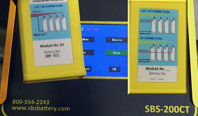 SBS-200CT Numbering A Spare Module Video