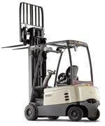 battery specified for Crown 4-wheel forklift