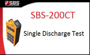 Single Discharge Test for SBS-200CT