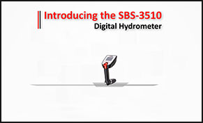 SBS-3510 Digital Hydrometer Teaser Video