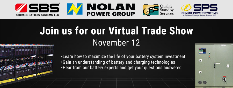 Join the Battery Experts at Our Virtual Trade Show