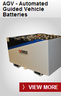 SBS Battery: AGV - Automated Guided Vehicle Batteries