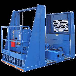 double tier industrial battery extractor/changer