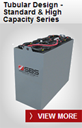 SBS Battery: Tubular Design - Standard & High Capacity Series