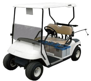 Pro-Fill watering system in a golf cart