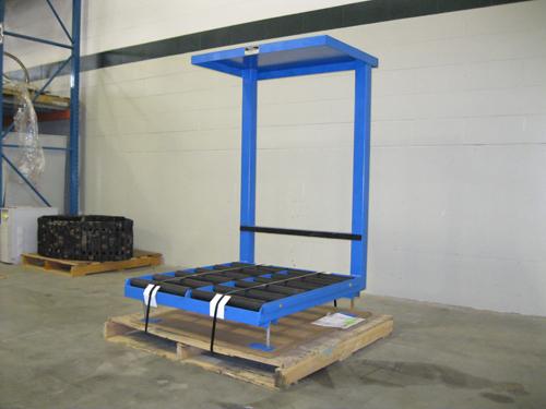 Battery Handling Equipment : Used forklift batteries storage battery systems llc
