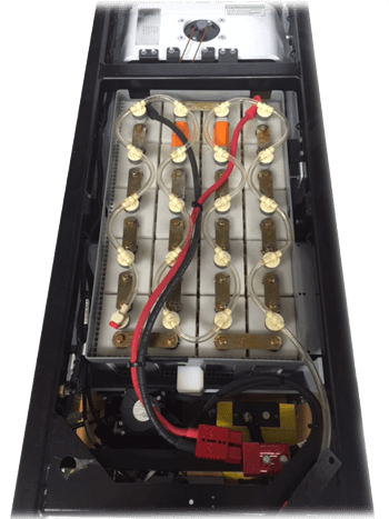 automated guided vehicle batteries
