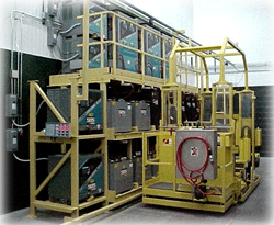 Battery Changing Handling Equipment Storage Battery Systems