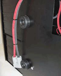 spacers for adjusting battery pack width
