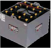 forklift, lift truck, pallet jack battery
