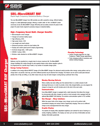 cata sheet for industrial forklift battery charger SBS-MicroSMART RHF