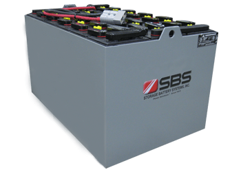 Traction Euro Din Tubular Forklift Batteries By SBS Battery