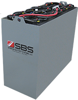 SBS Forklift PzVB Bolt-on Gel Cell Traction Motive Power Battery