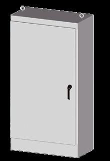 1 door battery cabinet